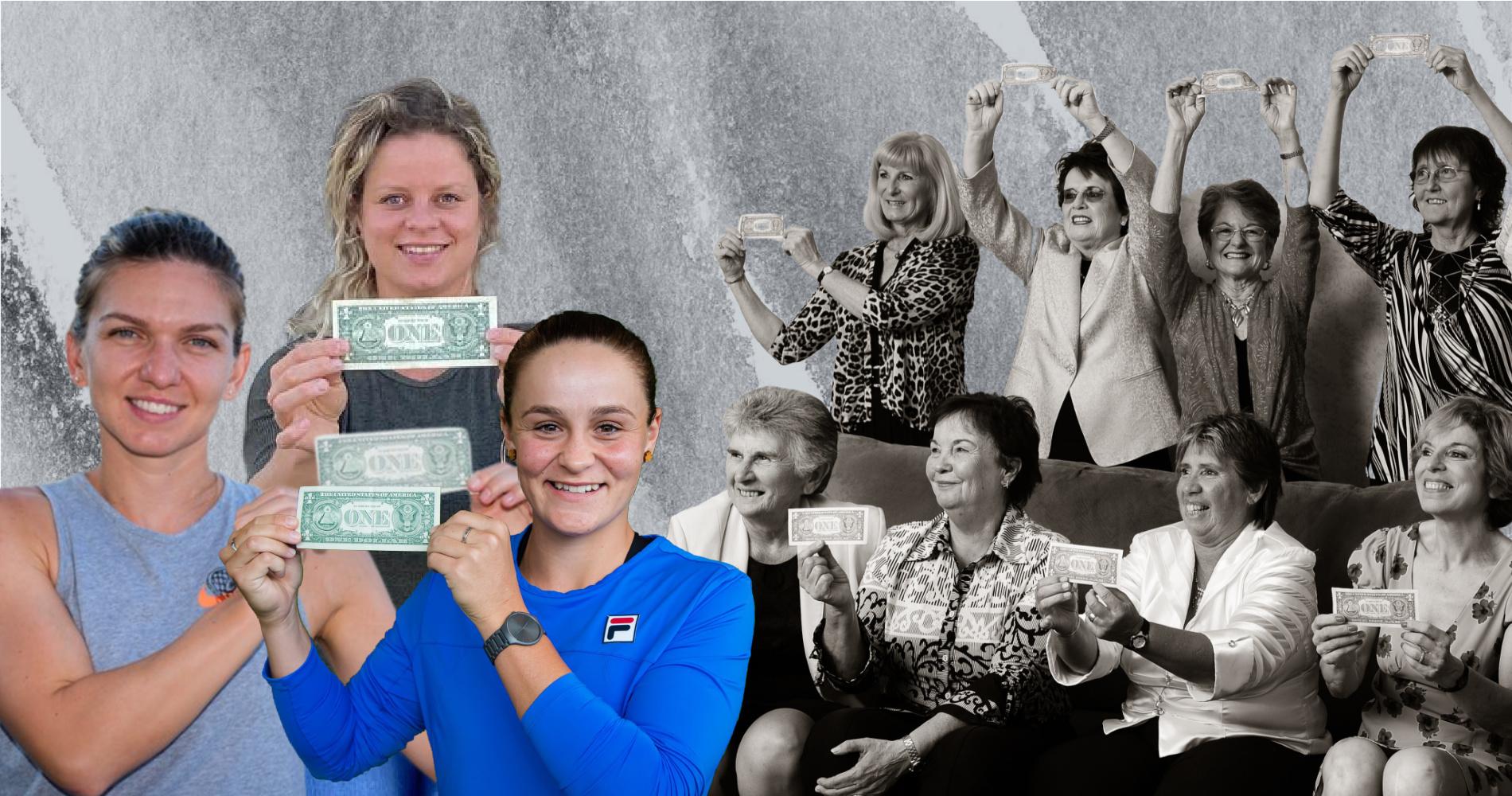 WTA players $1 bill