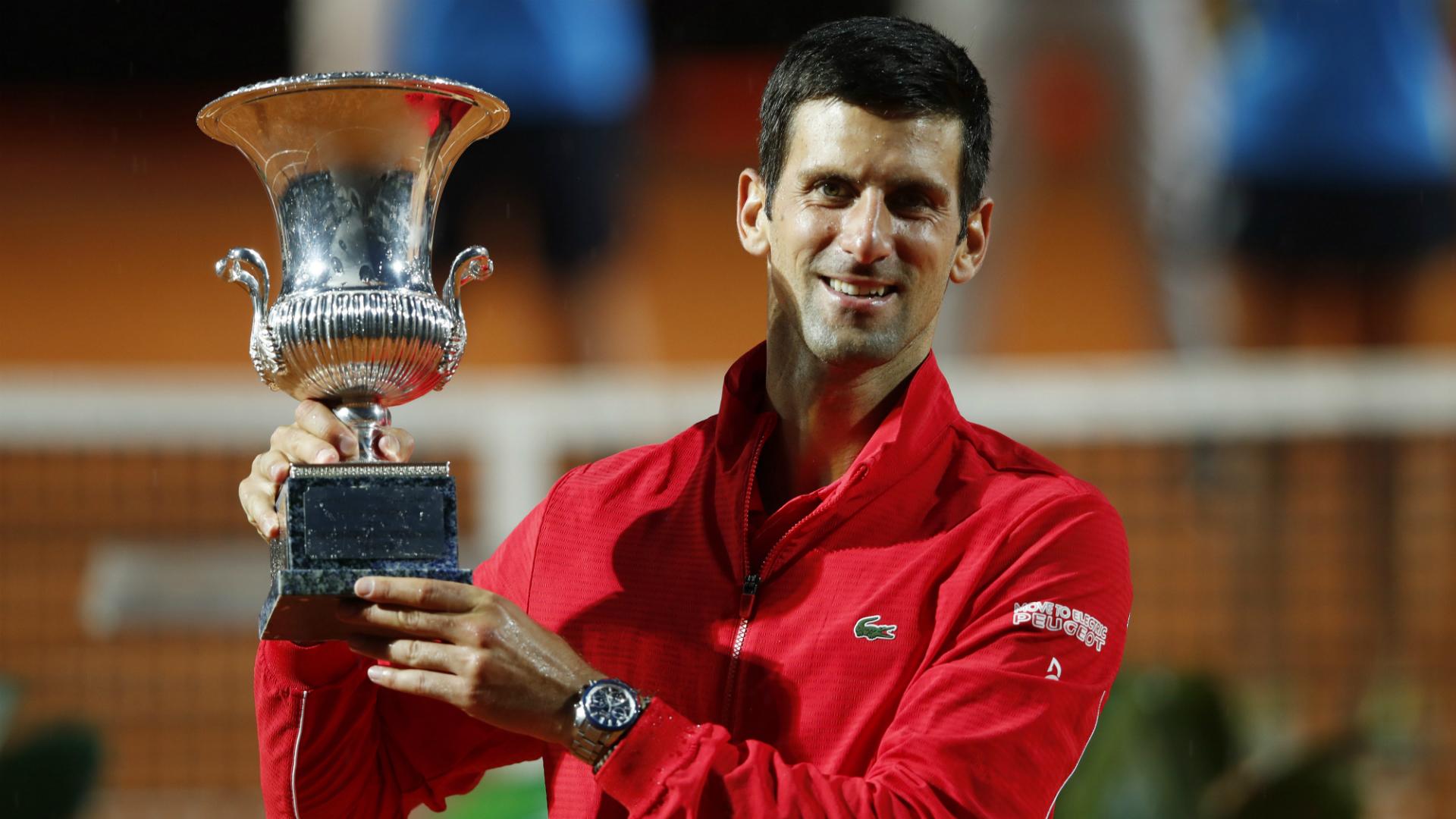 Djokovic Rome trophy