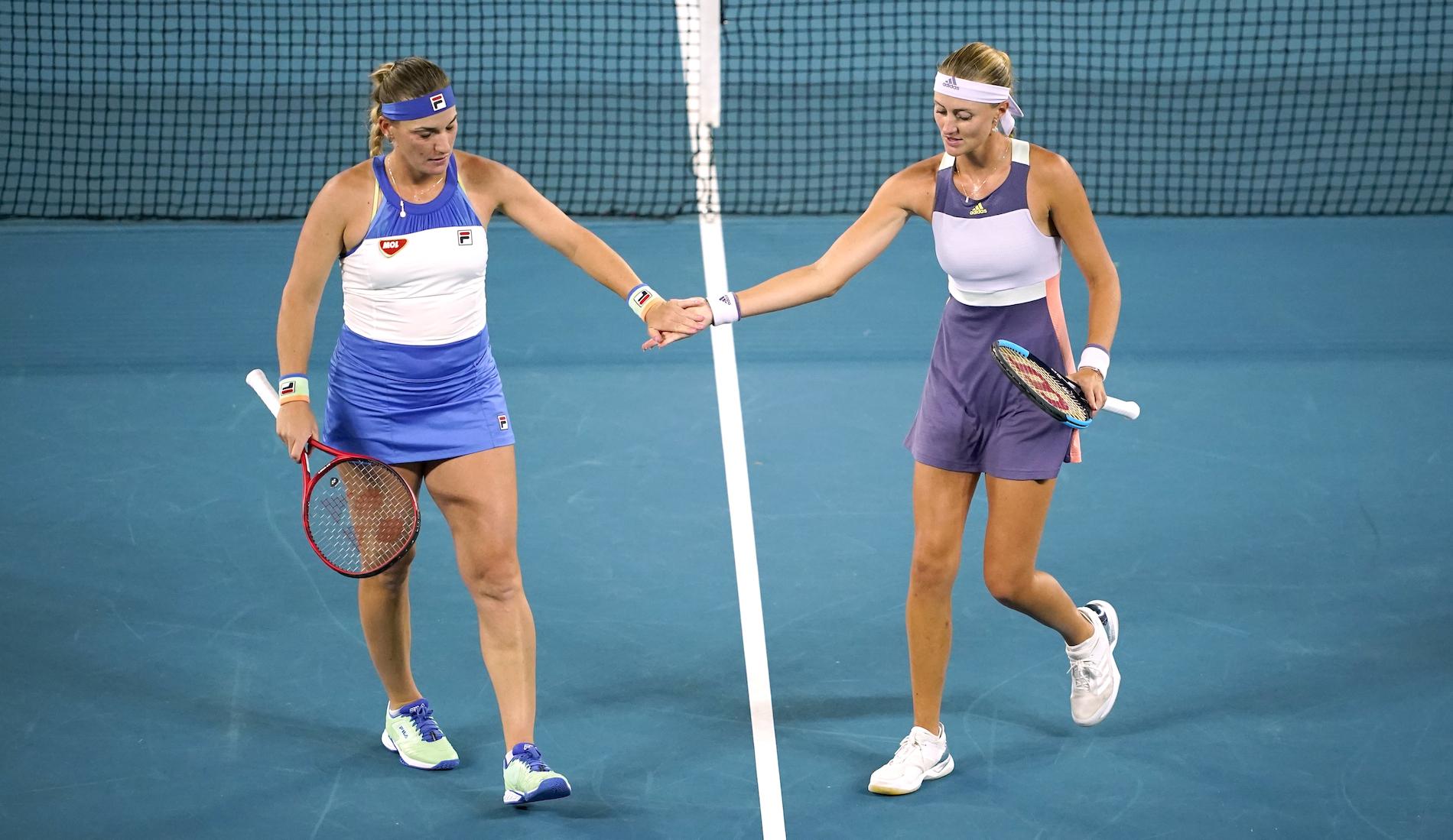 Kristina Mladenovic and Timea Babos