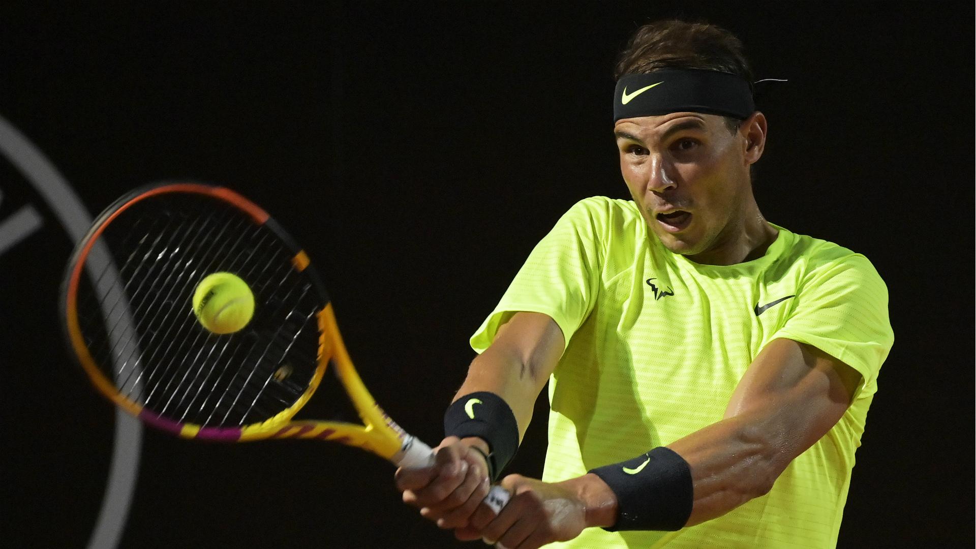 Rafael Nadal, Rome 2020