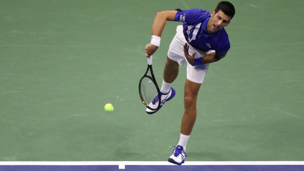 Novak Djokovic, 2020 US Open