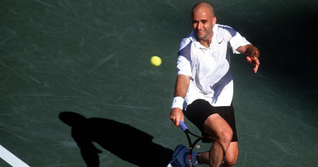 AGASSI US OPEN 2002