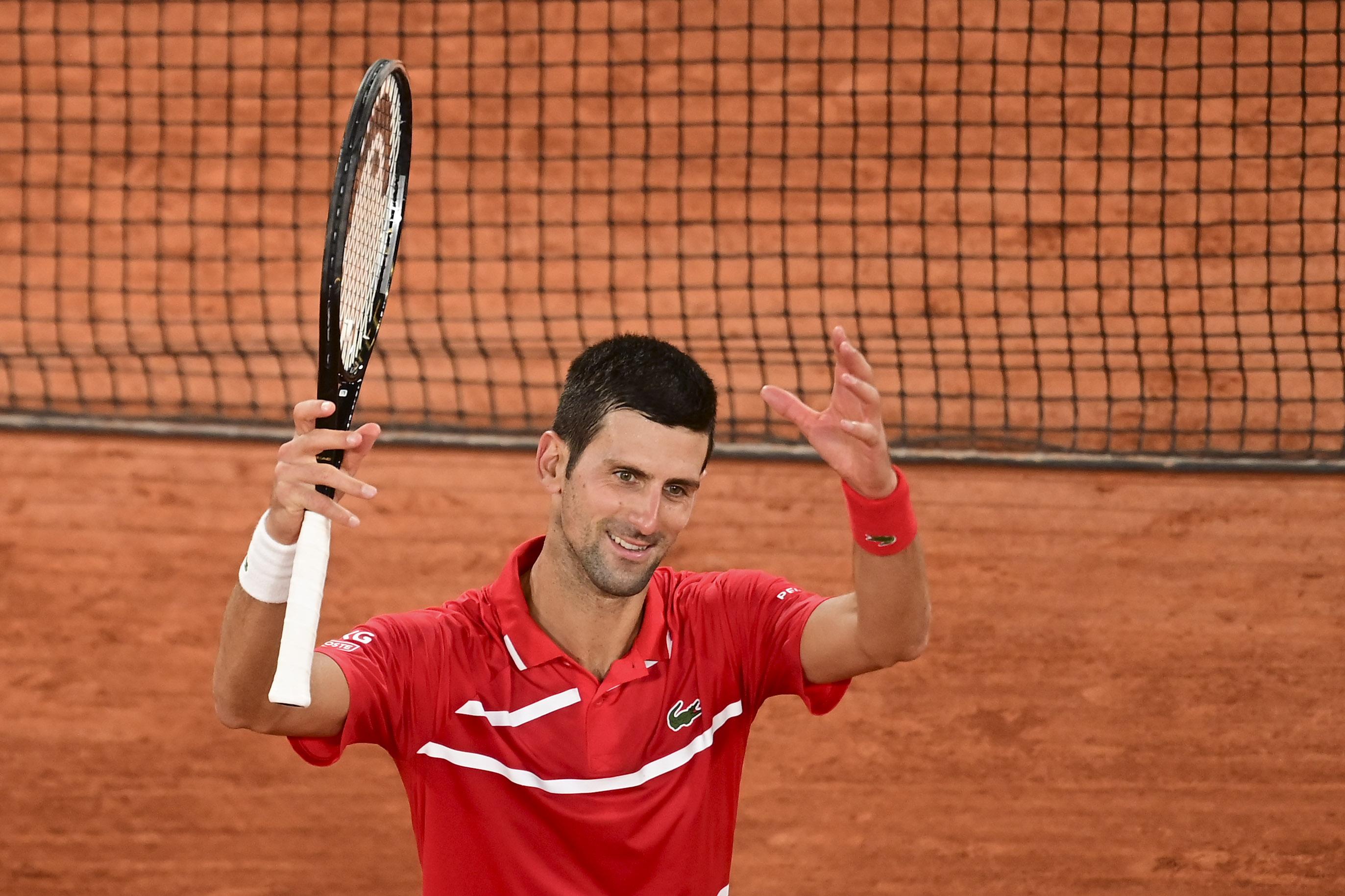 Novak Djokovic win