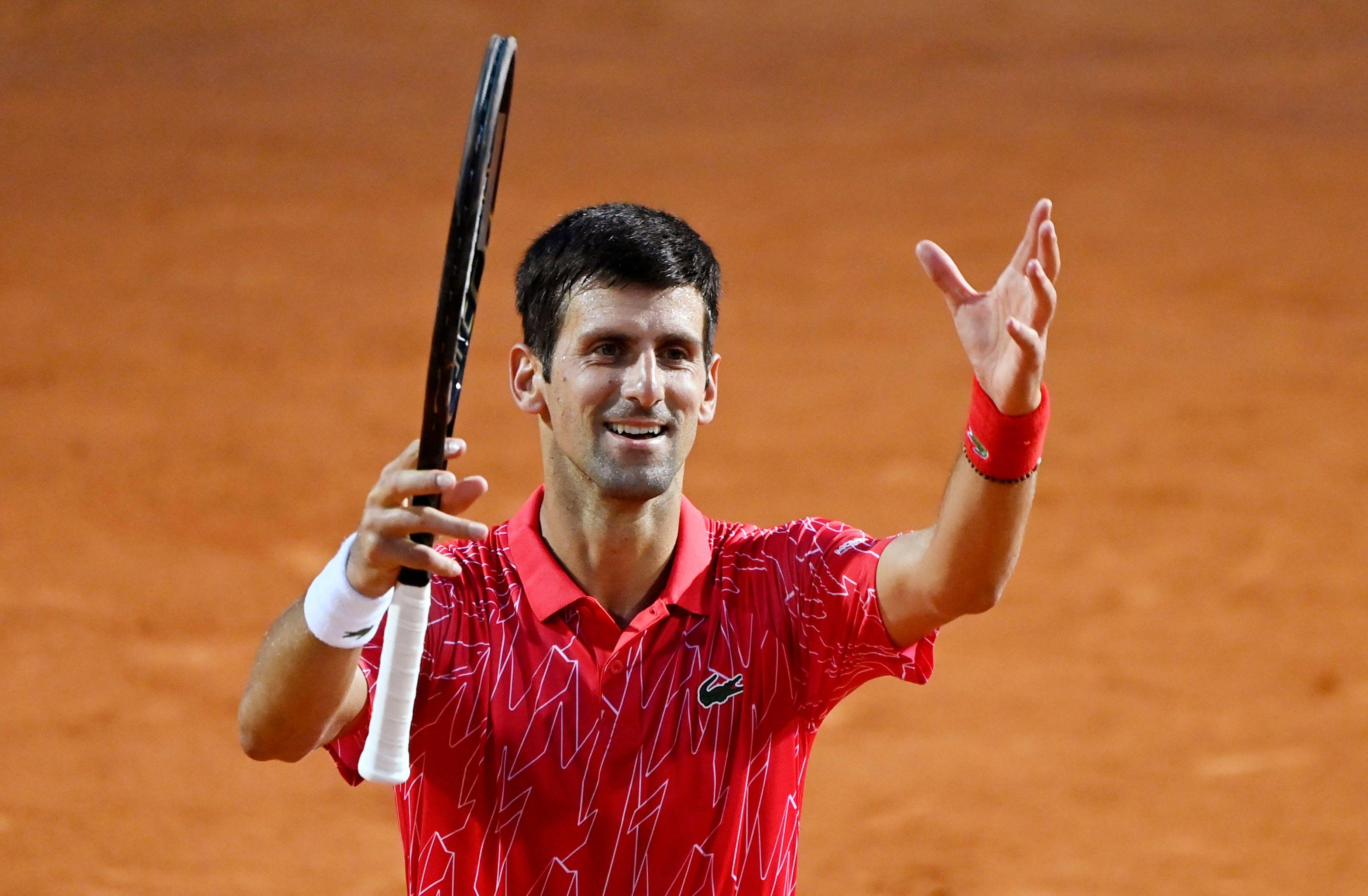 Djokovic 2020 Rome Masters