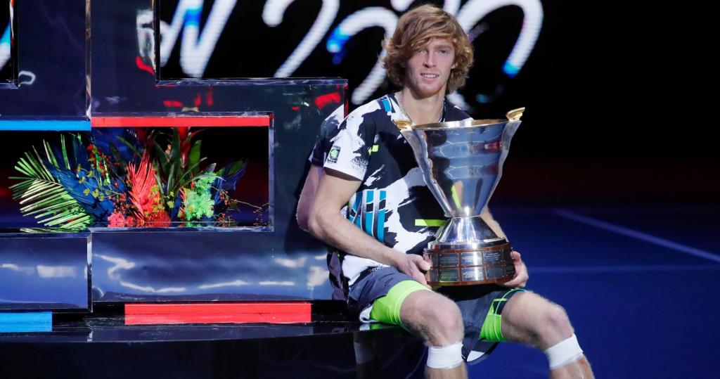 Andrey Rublev, St. Petersburg 2020 champion