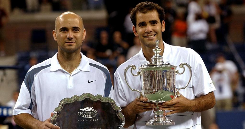 Andre Agassi, Pete Sampras, US Open, 2002