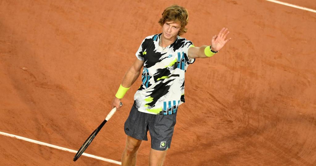 Andrey Rublev - Roland Garros 2020
