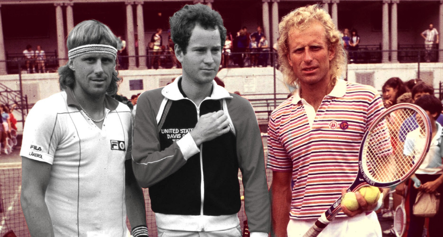 Borg - McEnroe - Gerulaitis - Wimbledon (1)