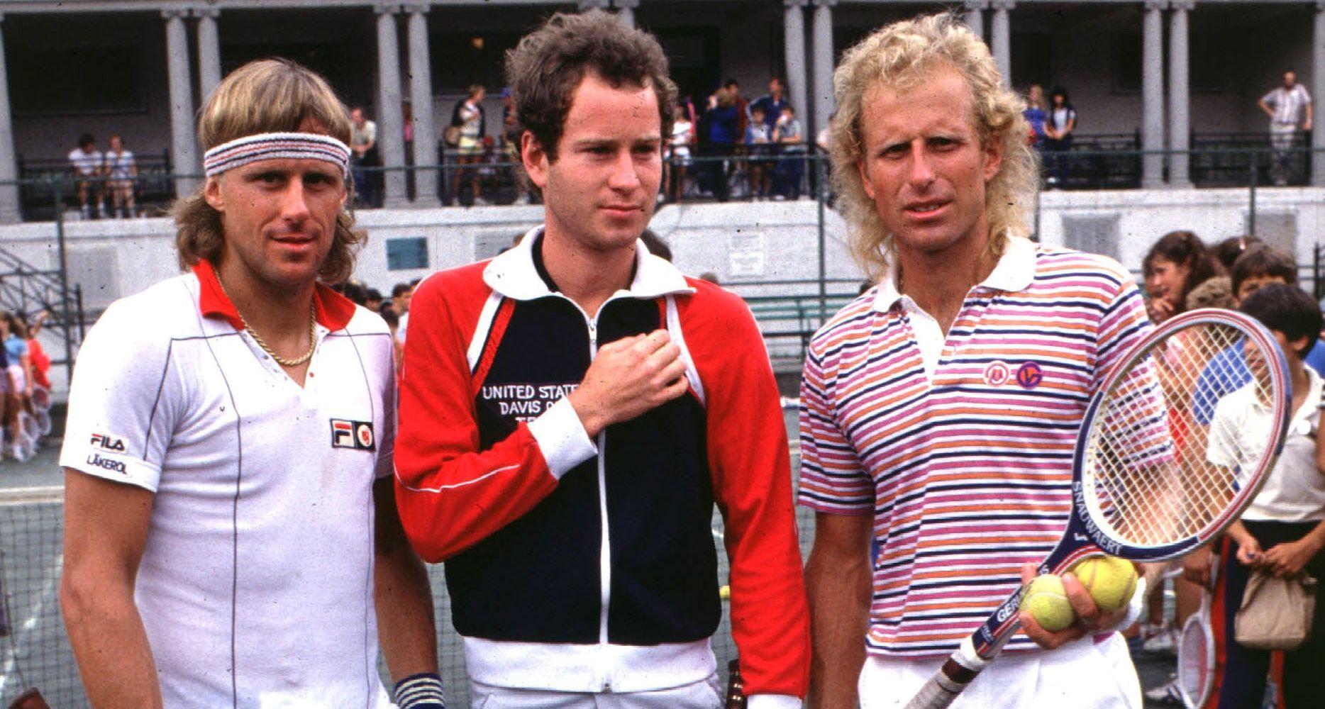 Borg - McEnroe - Gerulaitis - Wimbledon