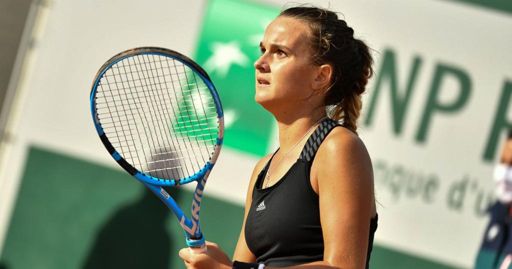 Clara Burel - Roland-Garros 2020, 3e tour