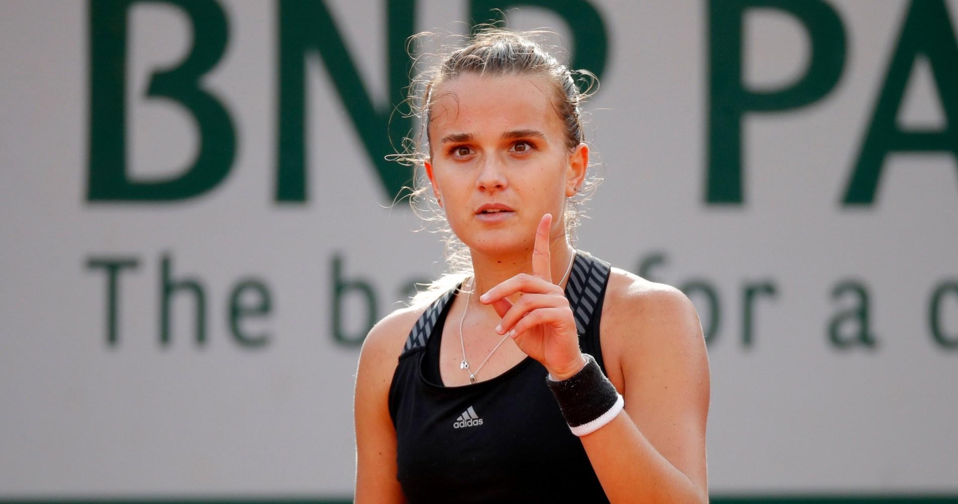 Clara Burel - Roland Garros 2020