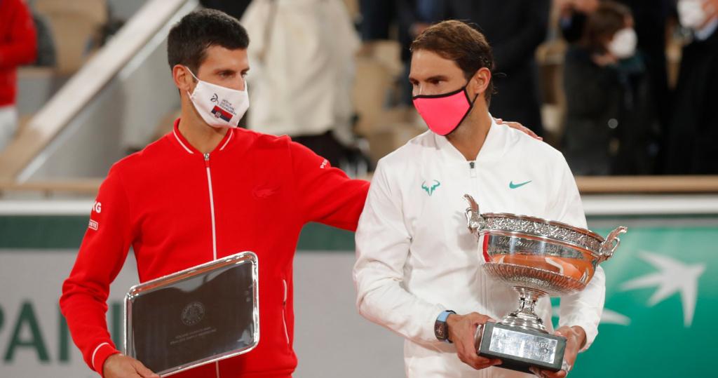 Novak Djokovic and Rafael Nadal, Roland-Garros 2020