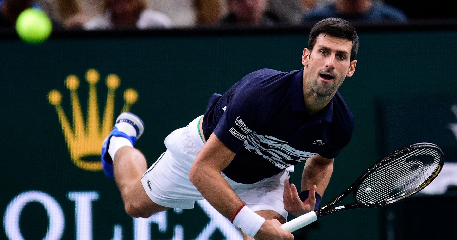 Novak Djokovic, Rolex Paris Masters 2019