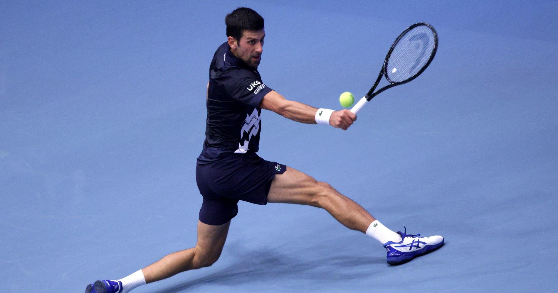 Novak Djokovic, Vienne 2020