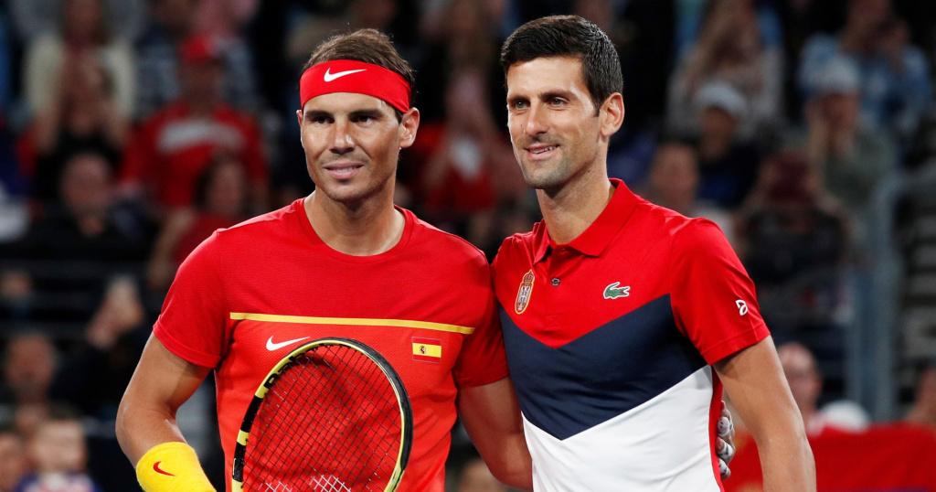 Djokovic Nadal ATP CUP 2020