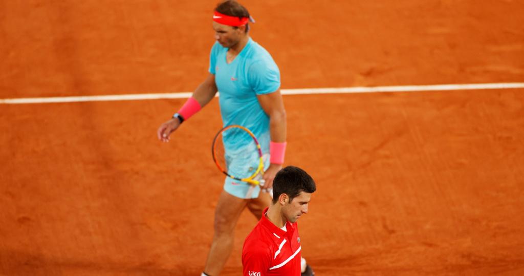 Djokovic Nadal Roland 2020