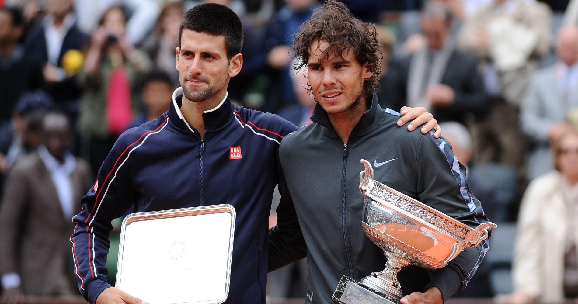 Djokovic Nadal Roland