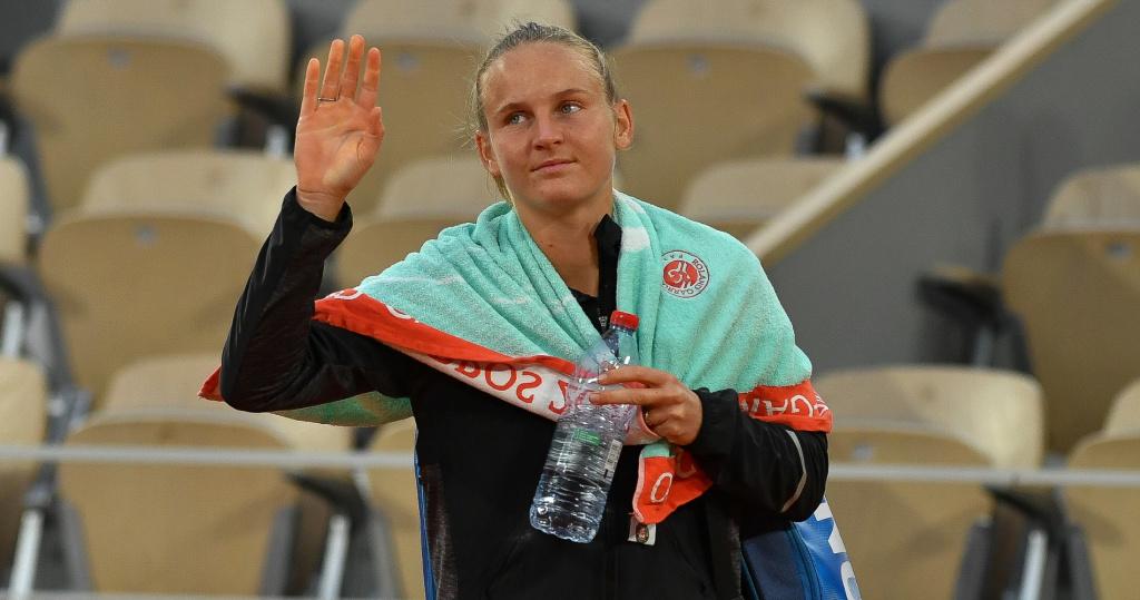 Fiona Ferro, Roland-Garros 2020