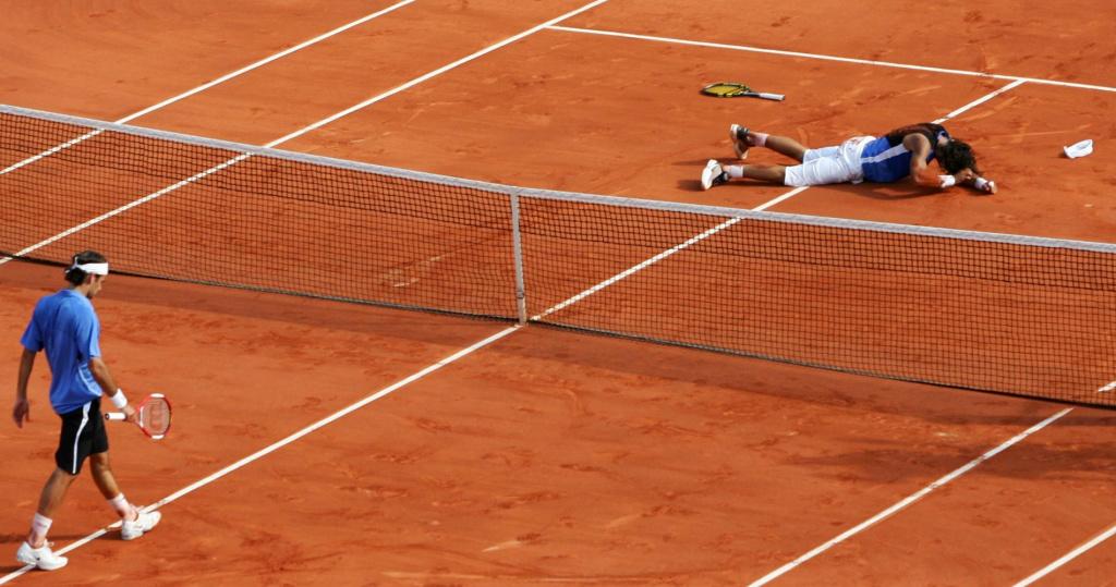Federer Nadal Roland Garros 2006