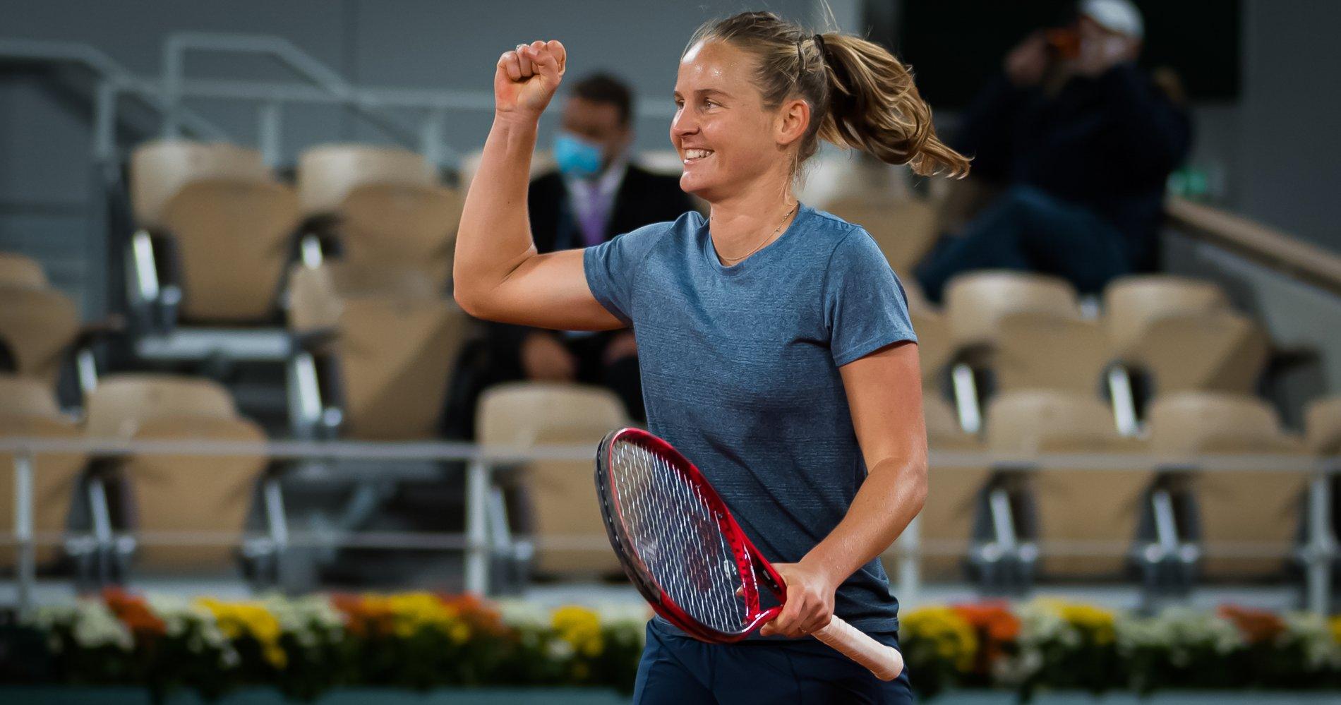Fiona Ferro - Roland-Garros 2020 - 3rd round