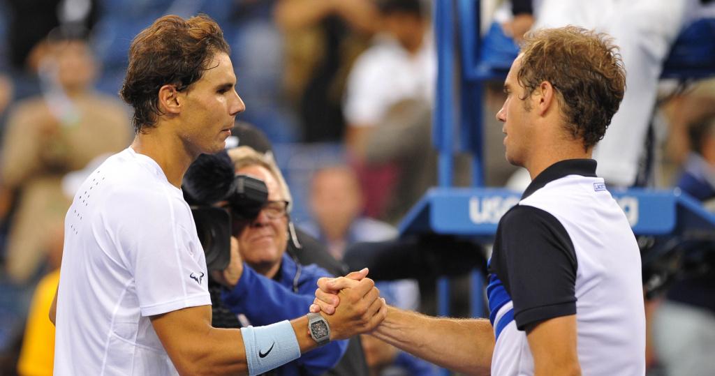 Gasquet Nadal US OPEN 2013