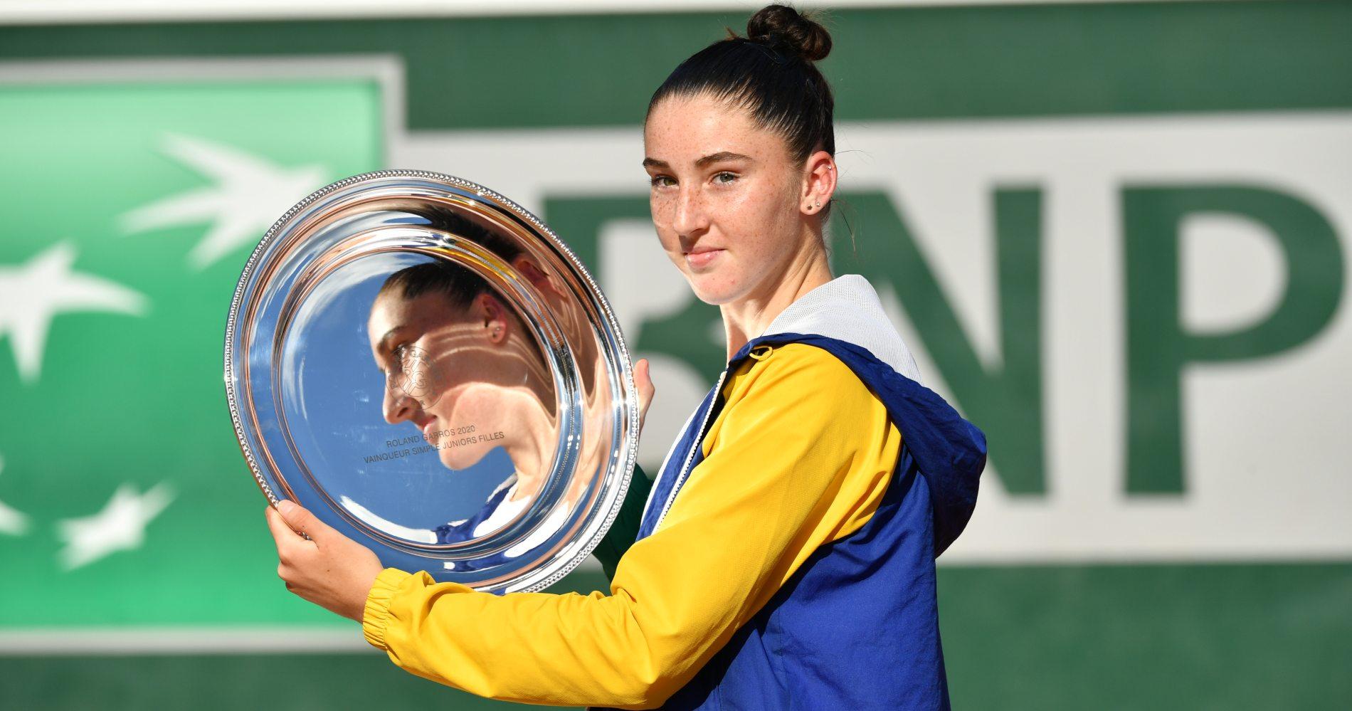 Jacquemot - Roland-Garros juniors - 2020 Finale
