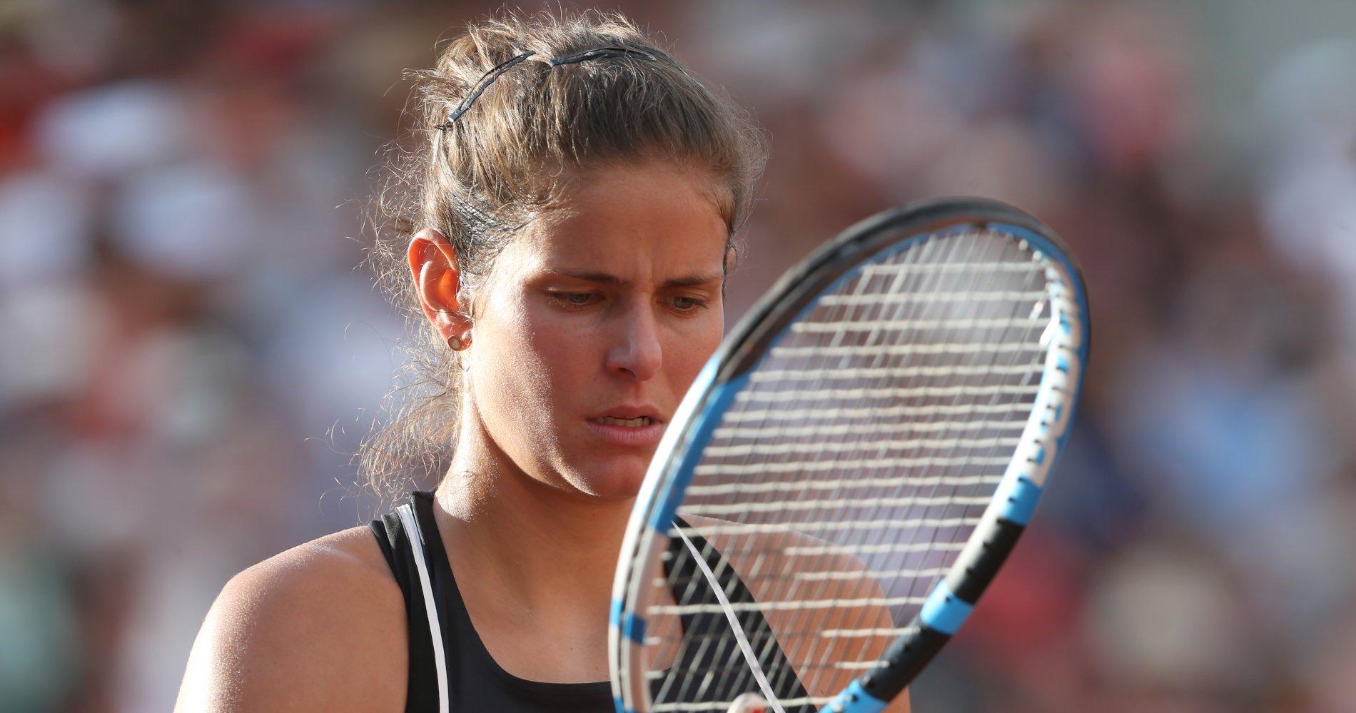 Julia Georges - Roland-Garros 2018