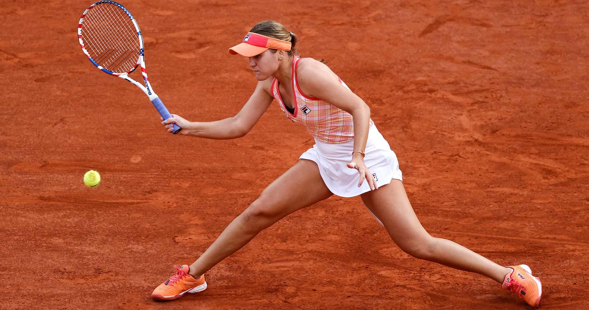 Sofia Kenin at Roland-Garros 2020 semifinal