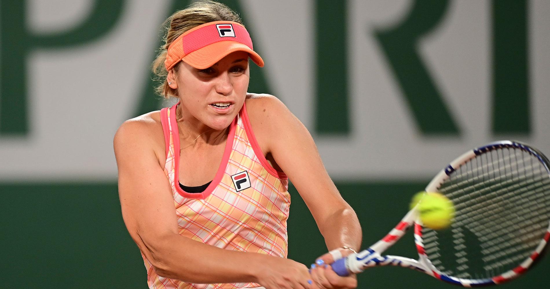 Sofia Kenin Roland-Garros 2020 fourth round
