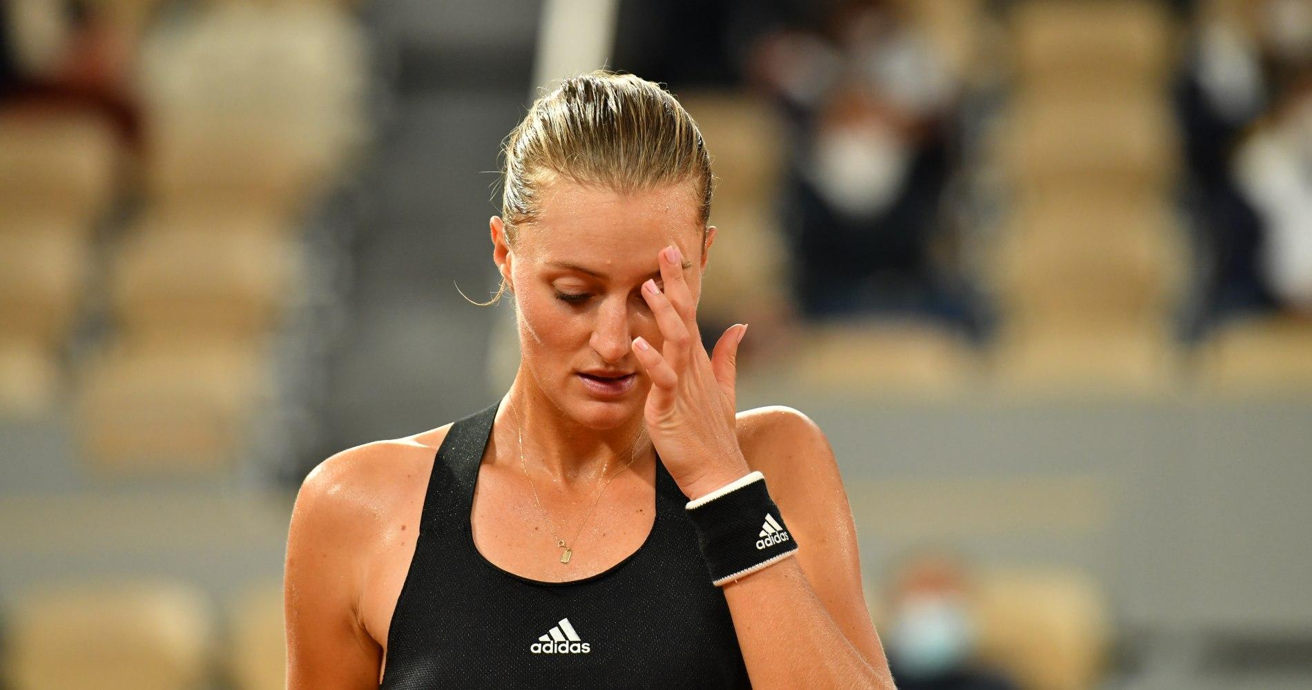 Kristina Mladenovic - 1st round Roland-Garros 2020