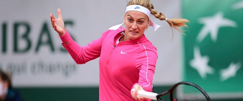 Kvitova into quarters