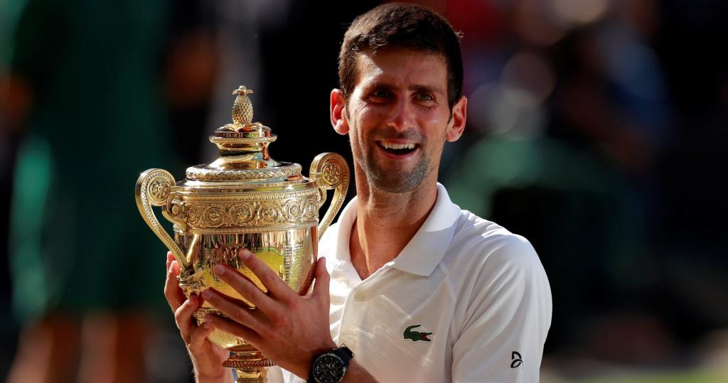 Novak Djokovic, Wimbledon 2018