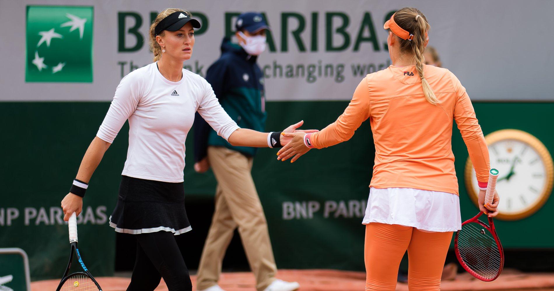 Kristina Mladenovic & Timea Babos, 2020 Roland-Garros