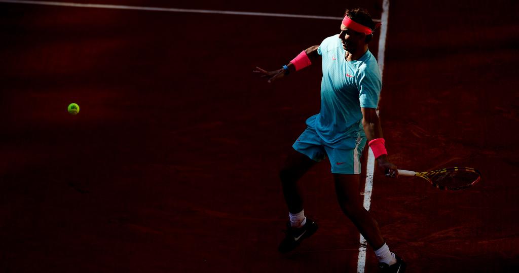 Rafael Nadal at Roland-Garros semi-final 2020