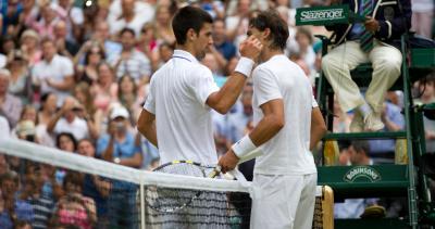 3 - Wimbledon 2011 face à Rafael Nadal (6-4, 6-1, 1-6, 6-3)