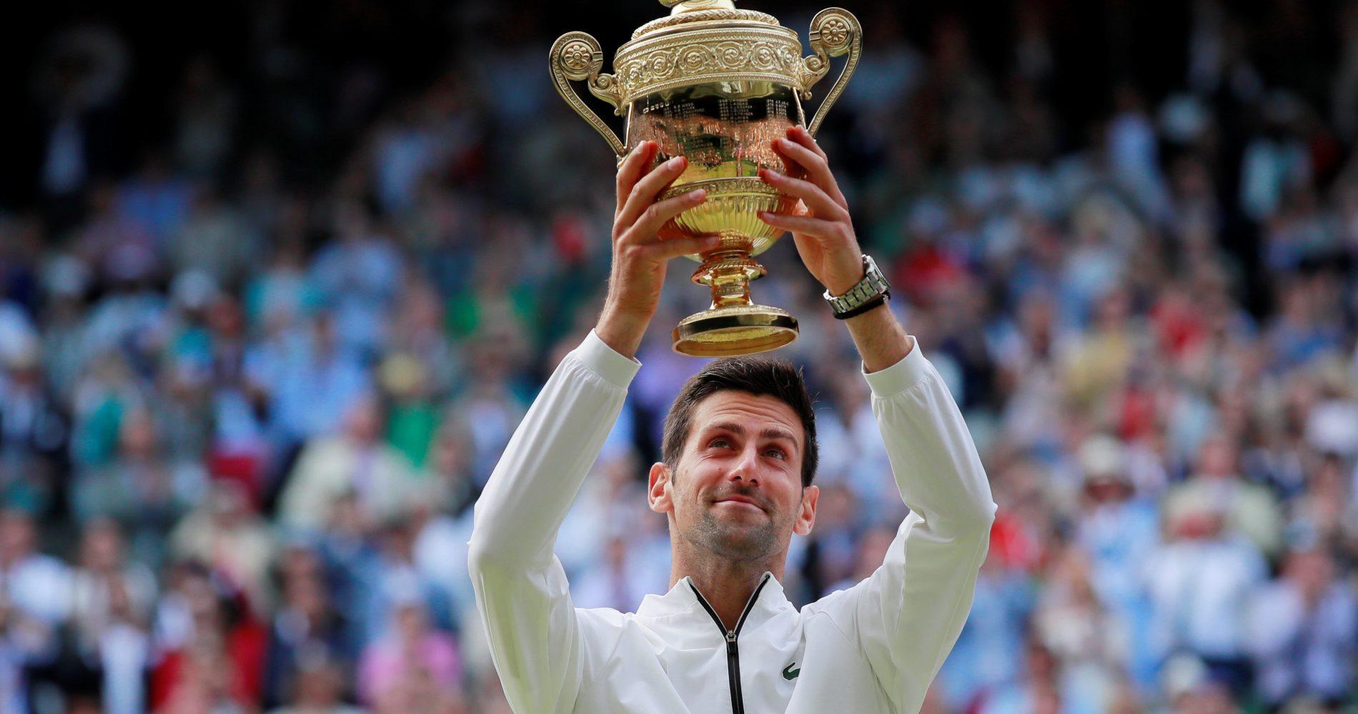 Novak Djokovic - Wimbledon 2019