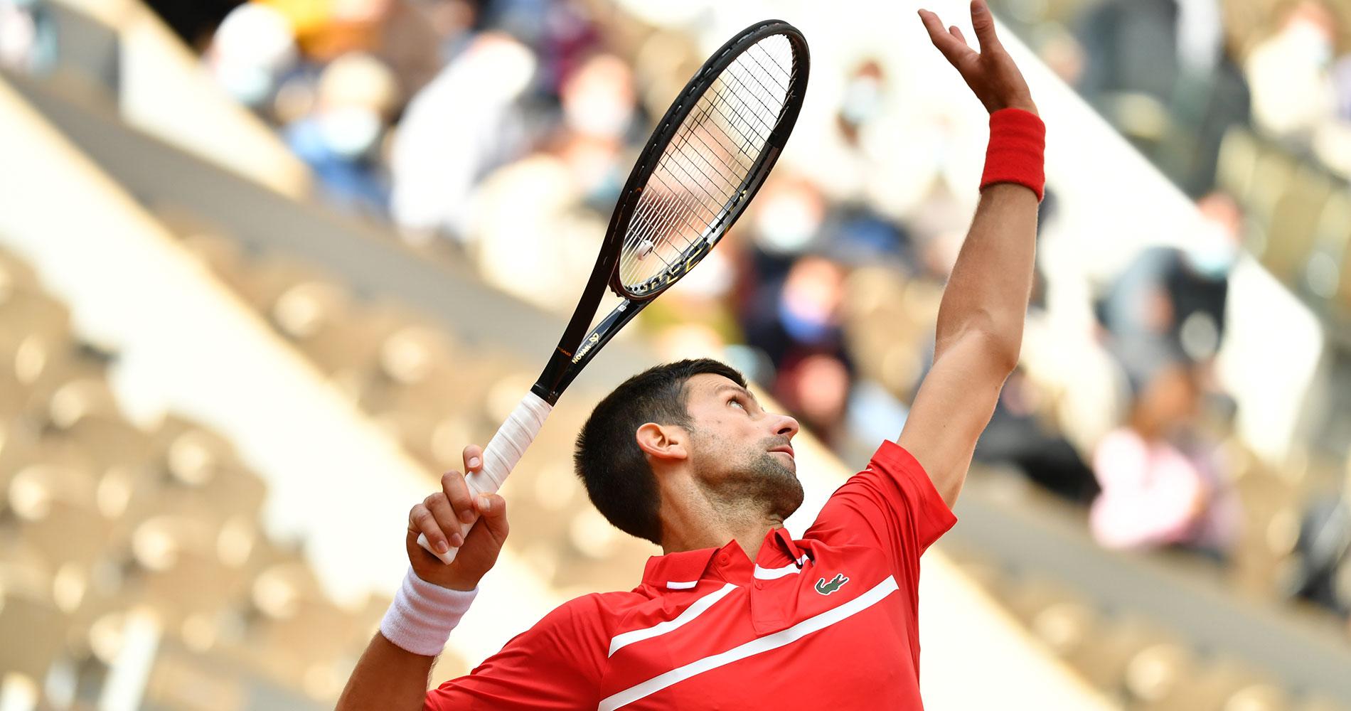 Novak Djokovic at Roland-Garros 2020 Round 2