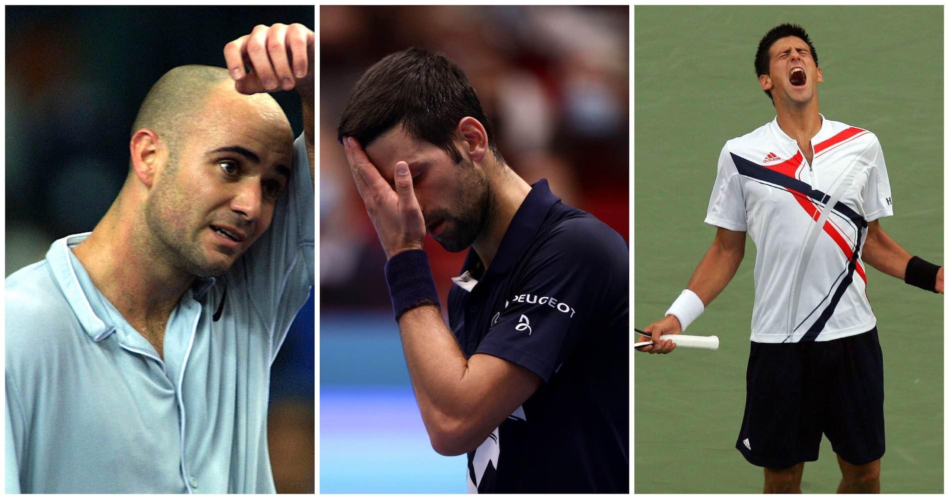 Andre Agassi (2000), Novak Djokovic (2020 et 2007)