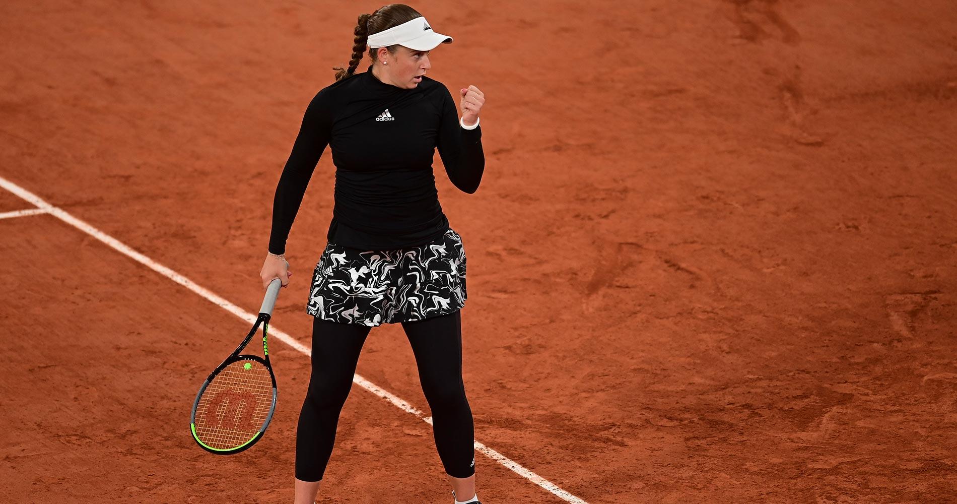 Jelena Ostapenko at Roland-Garros 2020 Round 2
