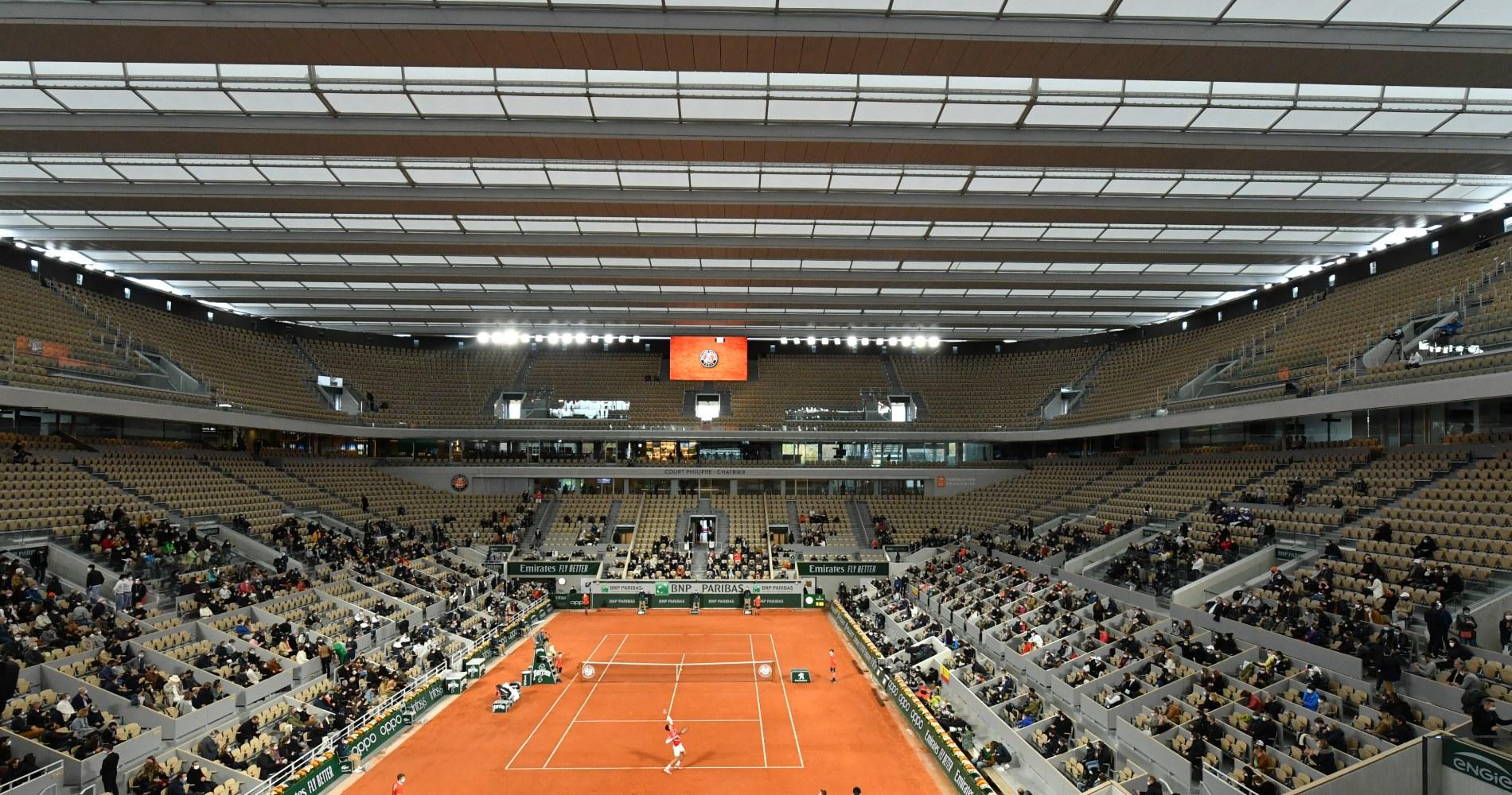 Philippe Chatrier Roland Garros 2020