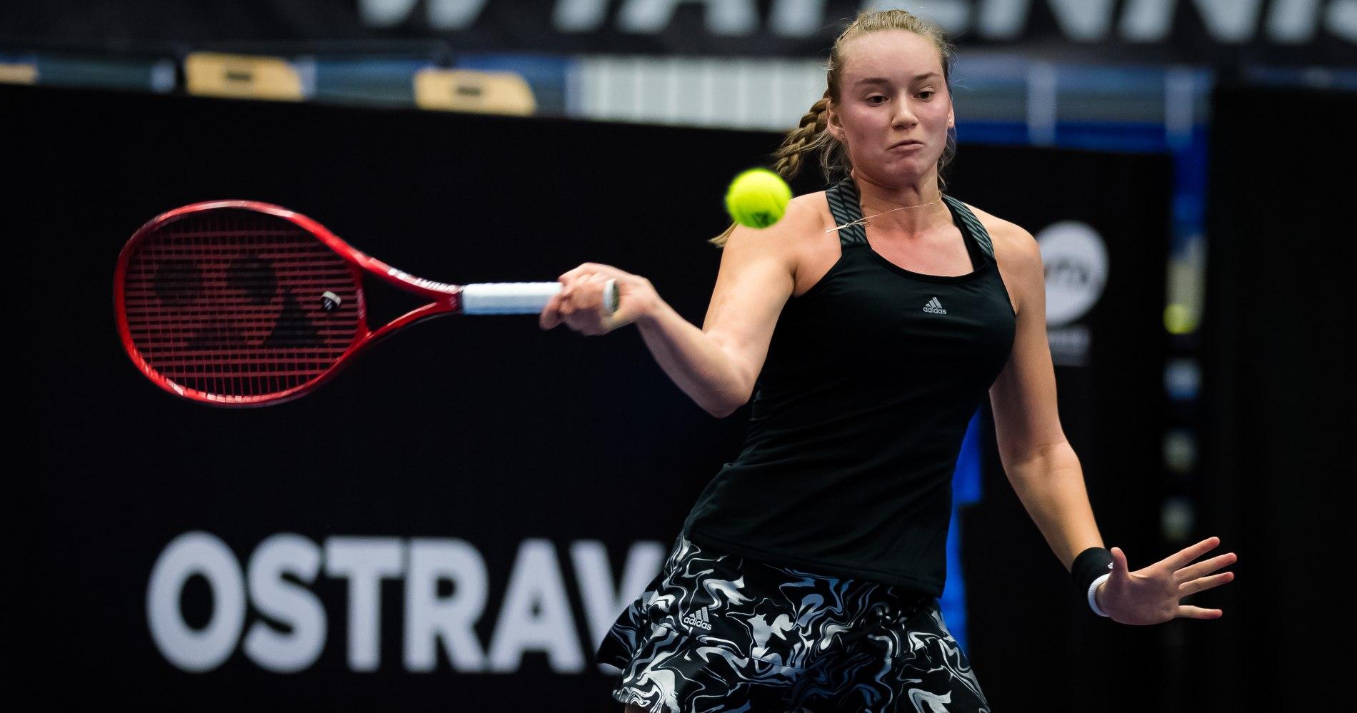 Elena Rybakina, Ostrava 2020