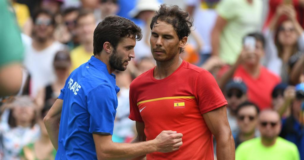 Gilles Simon vs Rafael Nadal 2016 Rio Olympics