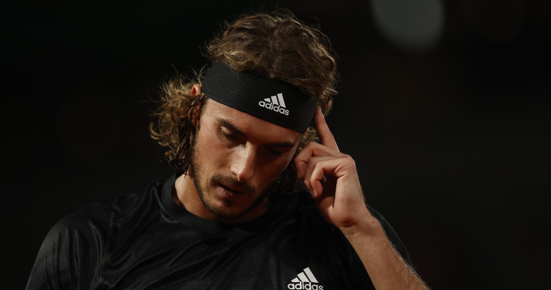 Stefanos Tsitsipas, Roland-Garros 2020