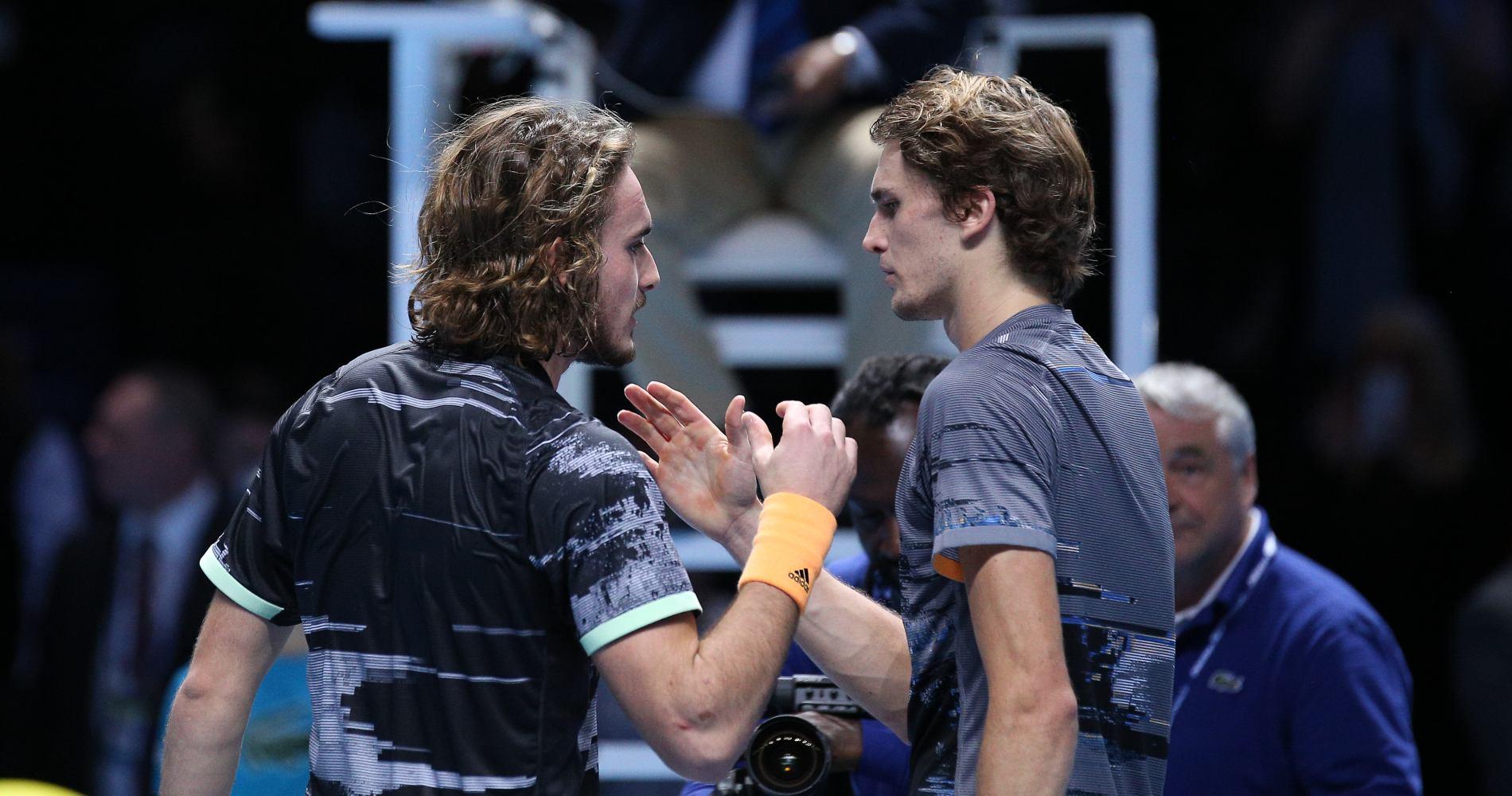 Stefanos Tsitsipas & Alexander Zverev, Masters 2019