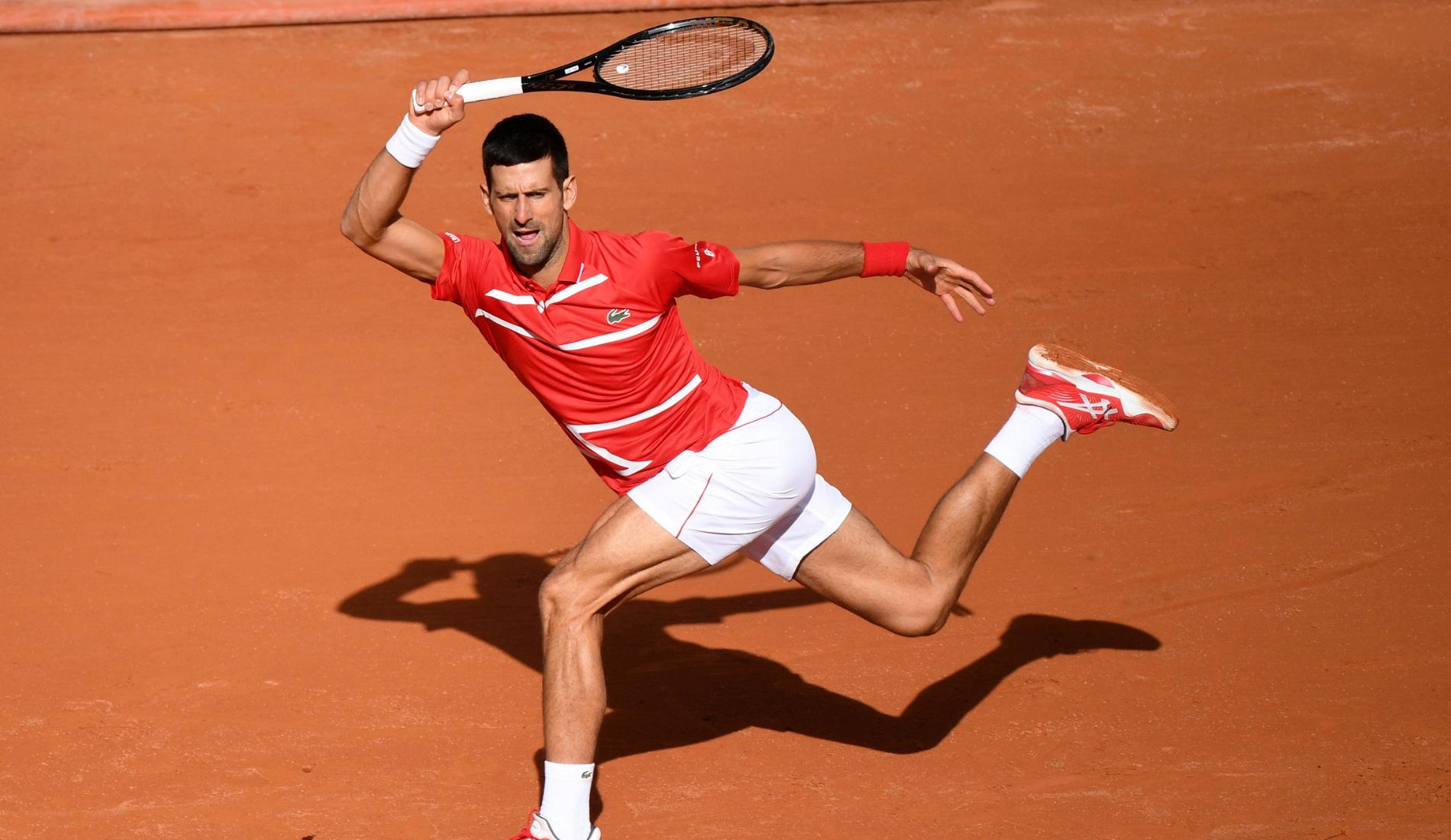 Novak Djokovic - Roland-Garros 2020