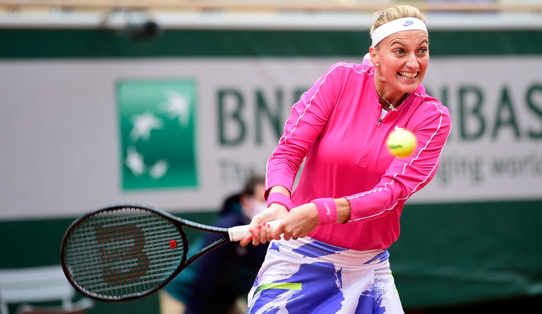 Petra Kvitova - Roland-Garros 2020