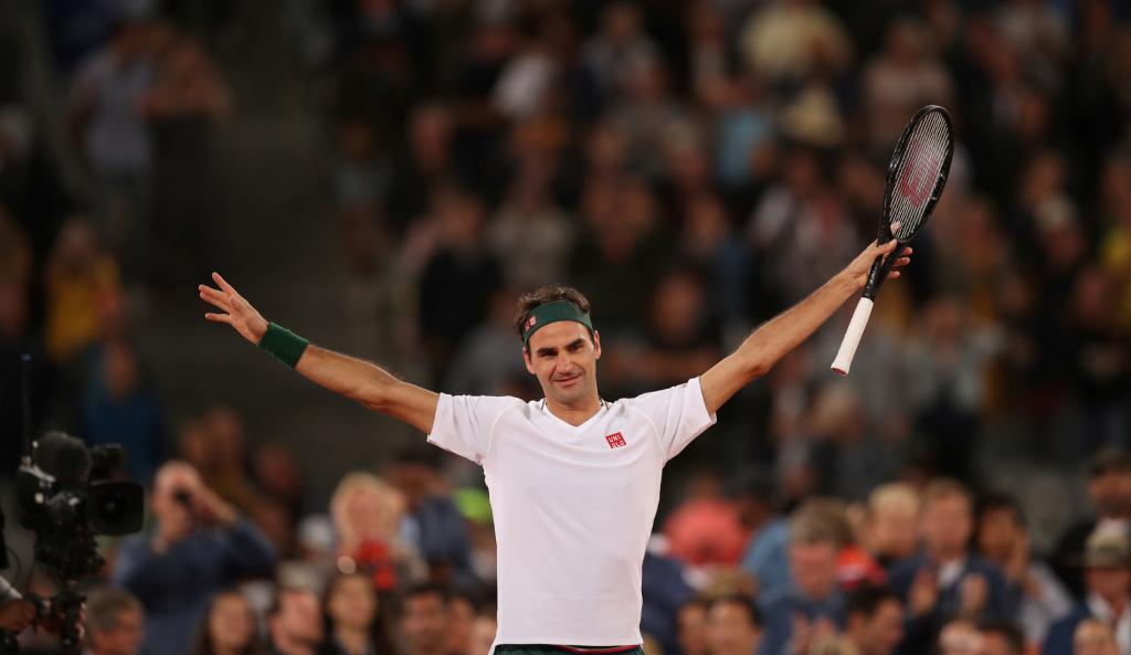 Roger Federer - Cape Town 2020