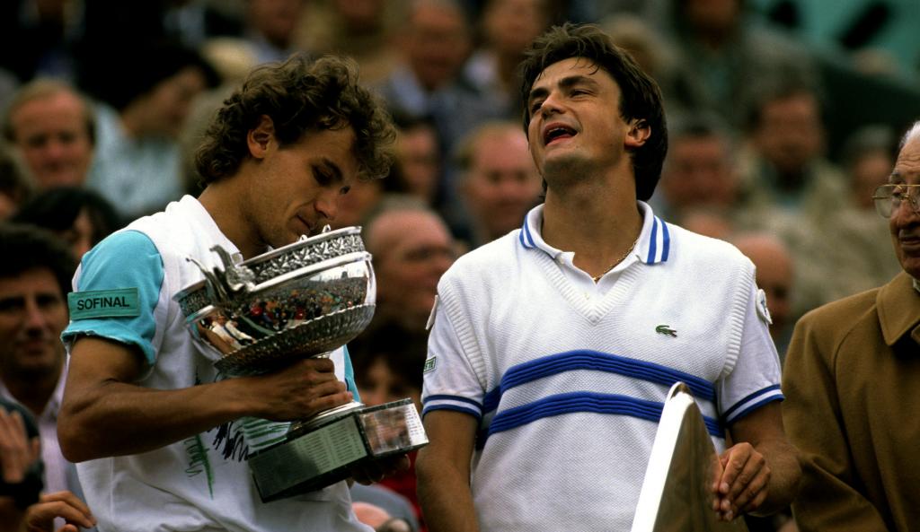 Henri Leconte - Roland-Garros 1988