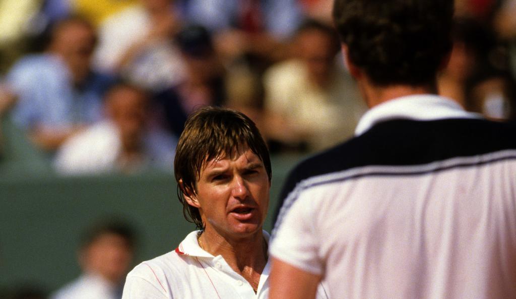 John McEnroe et Jimmy Connors - Roland-Garros 1984