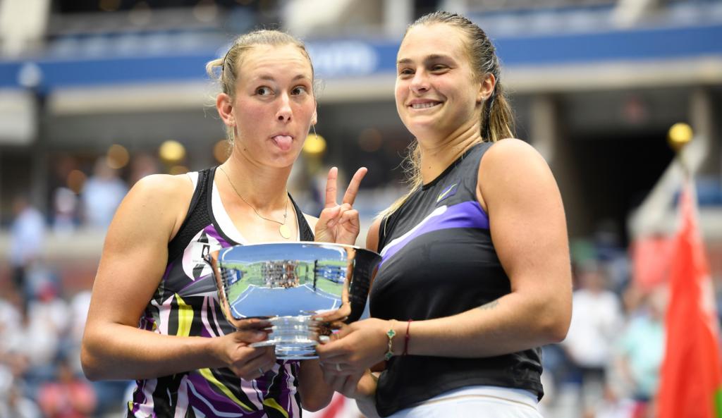 Aryna Sabalenka et Élise Mertens - US Open 2019